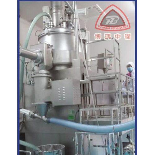 聚碳酸酯双锥混合机流程图 江苏博鸿 真石漆双锥混合机操作规程