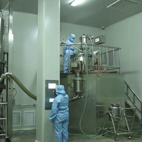 江苏博鸿 颜料助剂双锥混合机流程图 酶制剂双锥混合机