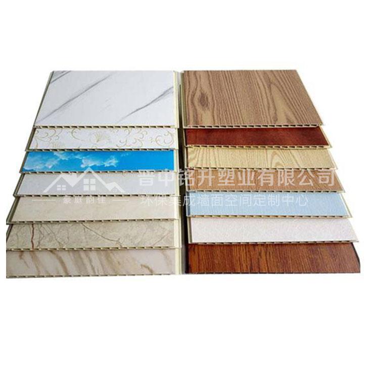 竹木纤维集成墙板厂家 豪庭韵佳集成墙板 竹木纤维集成墙板工程