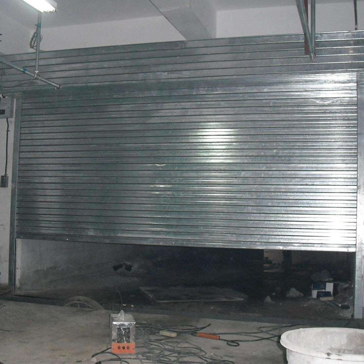 车库防火卷帘门安装 金盾 防火卷帘门厂 钢质防火卷帘门安装