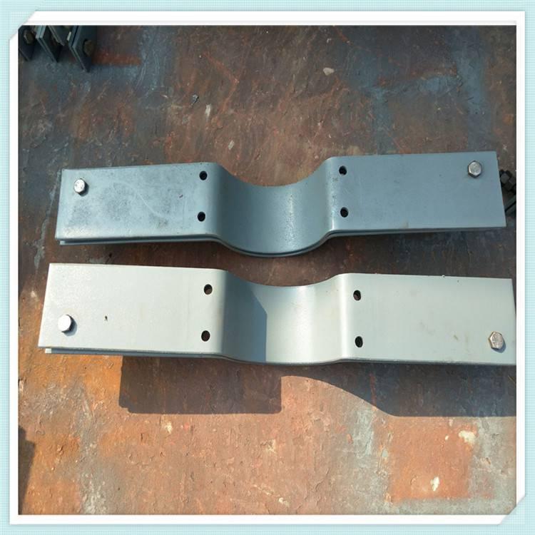 A9双排螺栓管夹三孔重型管夹轻型管夹鼎川管道