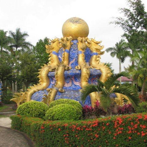 大型风水铜龙 昌盛雕塑 大型风水铜龙厂家
