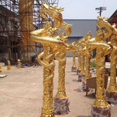 铜龙头 昌盛雕塑 大型铜龙头