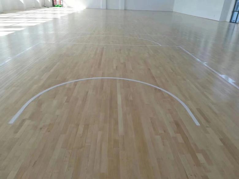 德州篮球馆实木运动地板 全国均可发货
