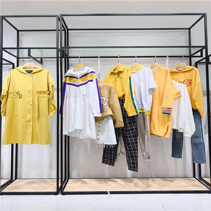 一二线知名品牌折扣女装现货 新款双面羊绒大衣
