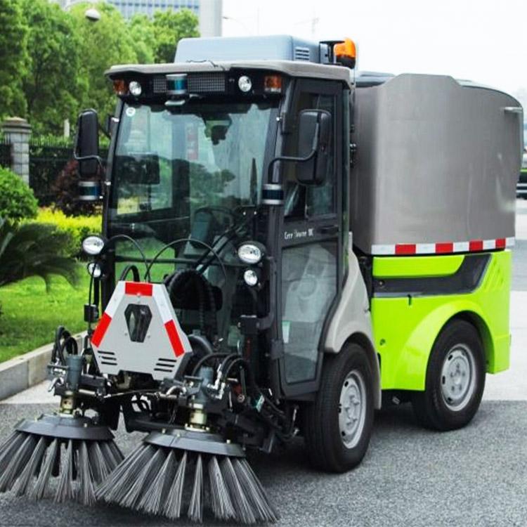 小型扫地车销售 宝通电动车业 中型扫地车公司 广场扫地车视频