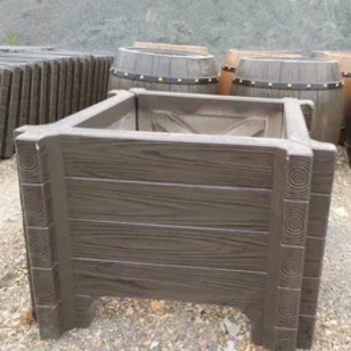 水泥大花箱花圃水泥栅栏和花箱批发 丽景建材