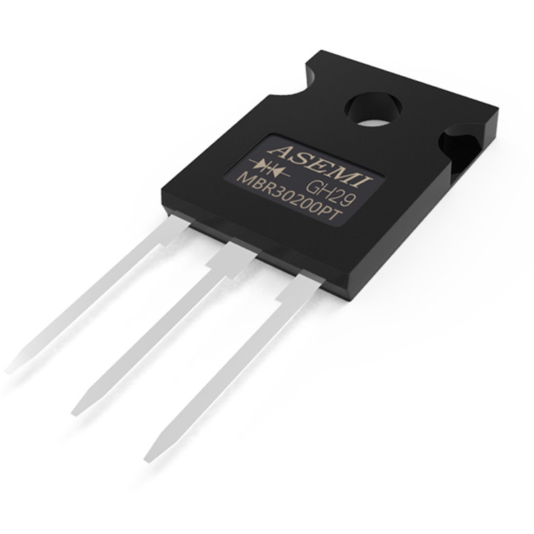 ASEMI MBR20200FCT肖特基二极管电流