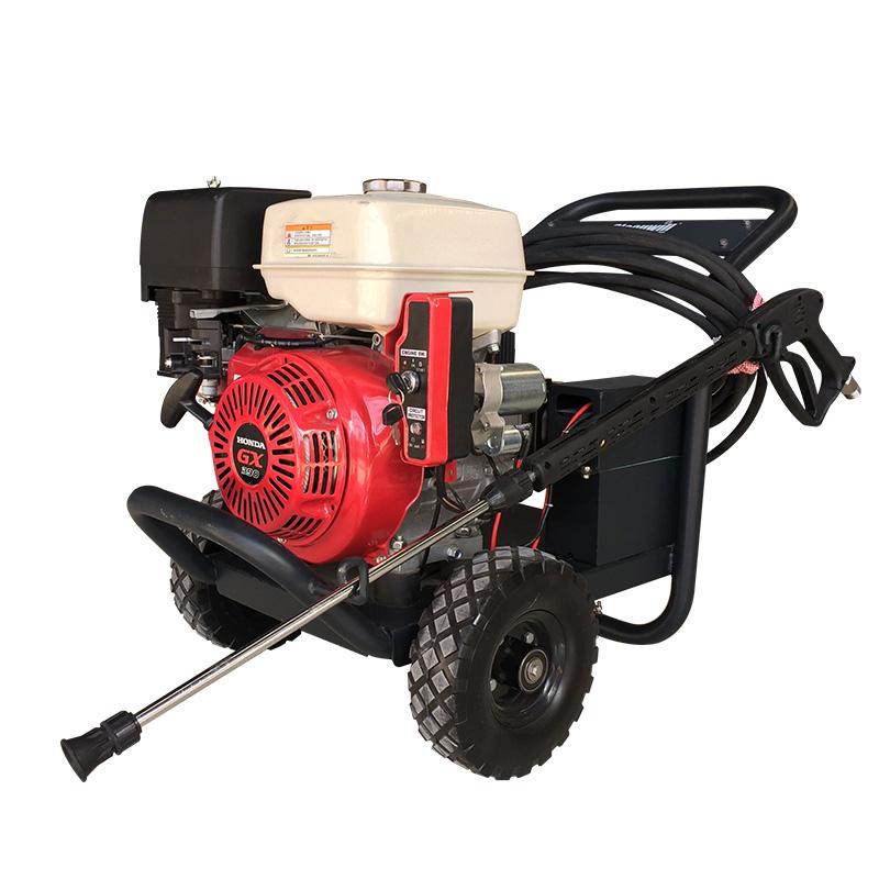 厂家直销油污高压清洗机270kg压力工厂除锈除油漆工业高压清洗机
