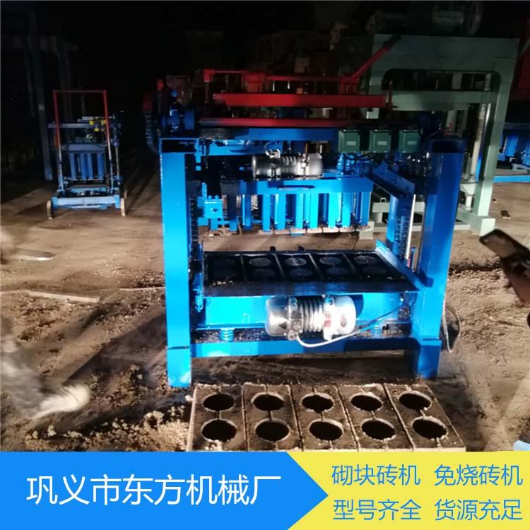 东方 多功能免烧砌块砖机 免烧砌块砖机供应商