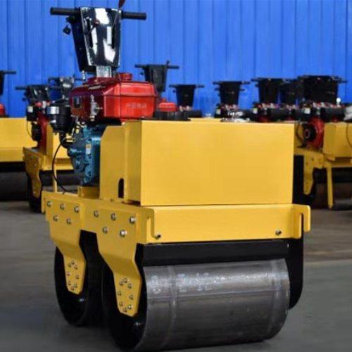 沟槽路面压实机报价 源工 柴油路面压实机迅速作业