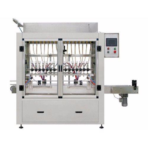供应半自动润滑油灌装机规格 恒鲁机械