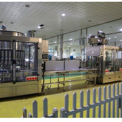 全自动灌装生产线图片 青州赛诺 电子定量灌装生产线视频