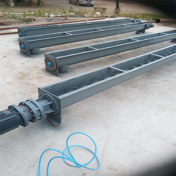供应U型螺旋输送机生产地 销售U型螺旋输送机用途 振源机械