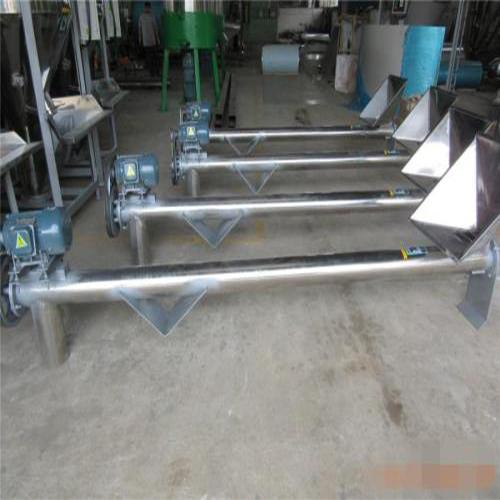 生产无轴螺旋输送机选购 振源机械 生产无轴螺旋输送机作用