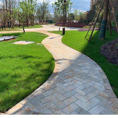 蜀通 人行道仿石生态透水砖专业生产 PC仿石生态透水砖专业生产