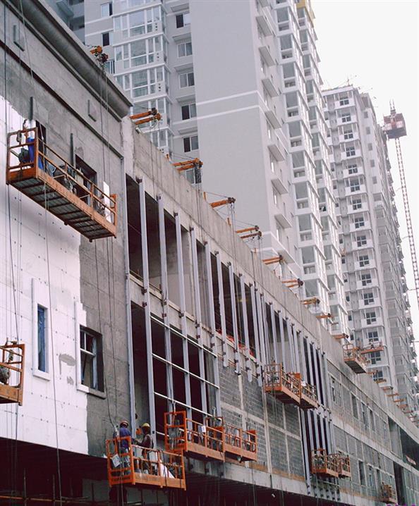 重庆铝合金吊篮 全国均可发货 山东鲁旺