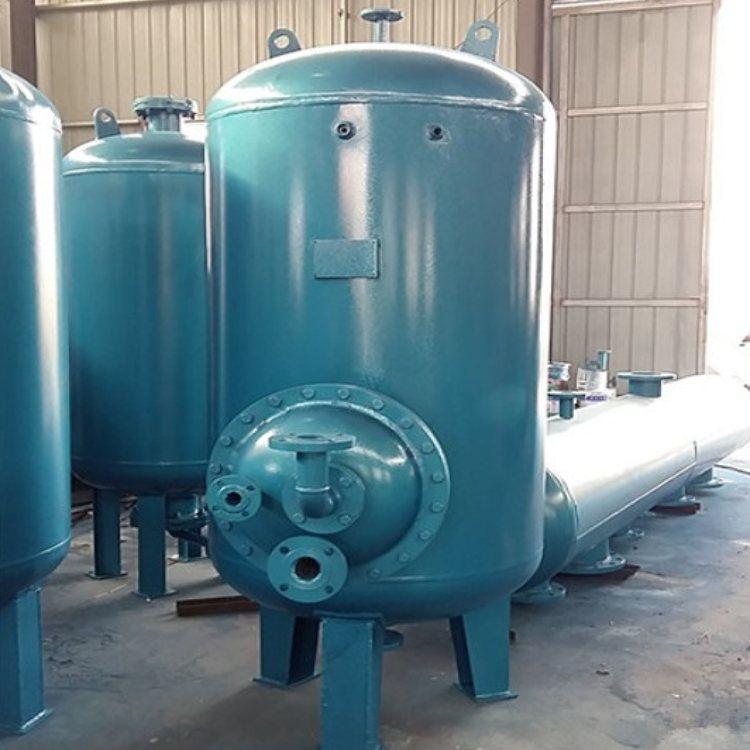 卧式浮动盘管换热器 旭辉 洗浴专用浮动盘管换热器供应商
