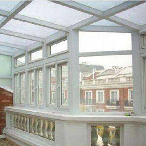仿古断桥铝门窗安装 断桥铝门窗安装 三朵云门窗