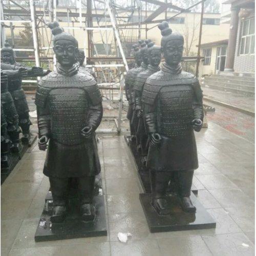 艺都雕塑 广场兵马桶铸铜雕塑 兵马桶铸铜雕塑定做