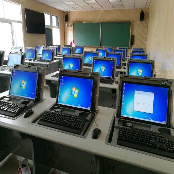 嵌入式翻转电脑桌定制 专业嵌入式翻转电脑桌定制 志欧