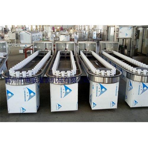 小型洗瓶机生产厂家 惠联灌装机械 链轨式洗瓶机报价