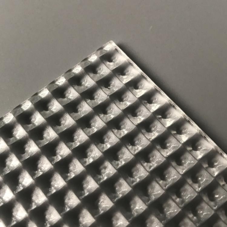 PMMA棱晶防眩光扩散板直下式面板灯UGR<19材料
