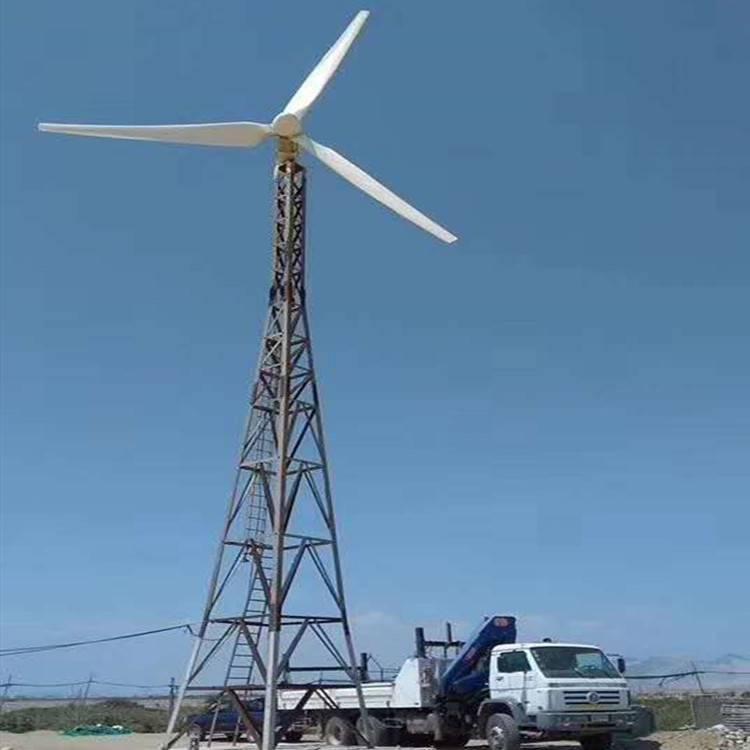 纯铜线风力发电机2kw保证足功率发电机蓝润厂家直销