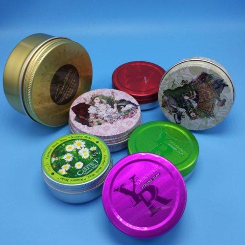 迷你铝罐特价 金属铝罐直售 新锦龙 发蜡铝罐生产商