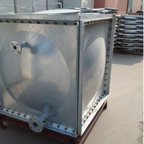 大丰20年 5立方热镀锌水箱施工 16吨热镀锌水箱