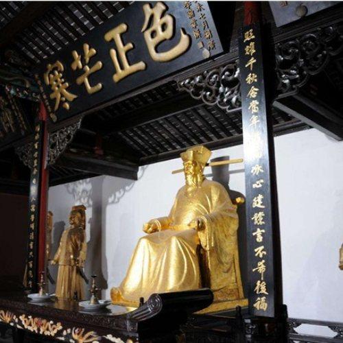 铸铜龙头铡铜雕塑 铸铜龙头铡神像 纯铜龙头铡塑像 艺都