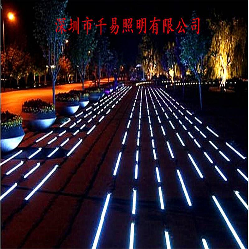 LED发光埋地灯带过道发光地砖厂商