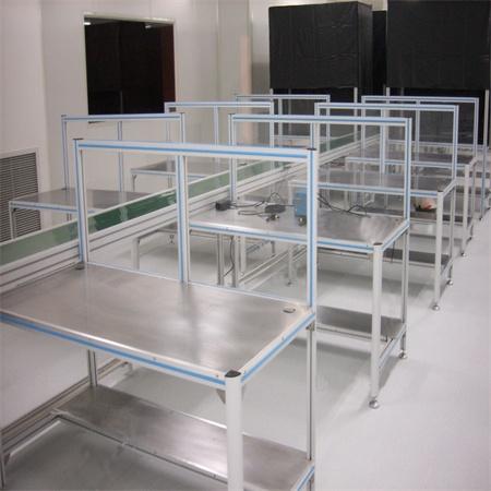 防静电工作台 生产线工作台 电子厂装配桌子 工业型材流水线设备