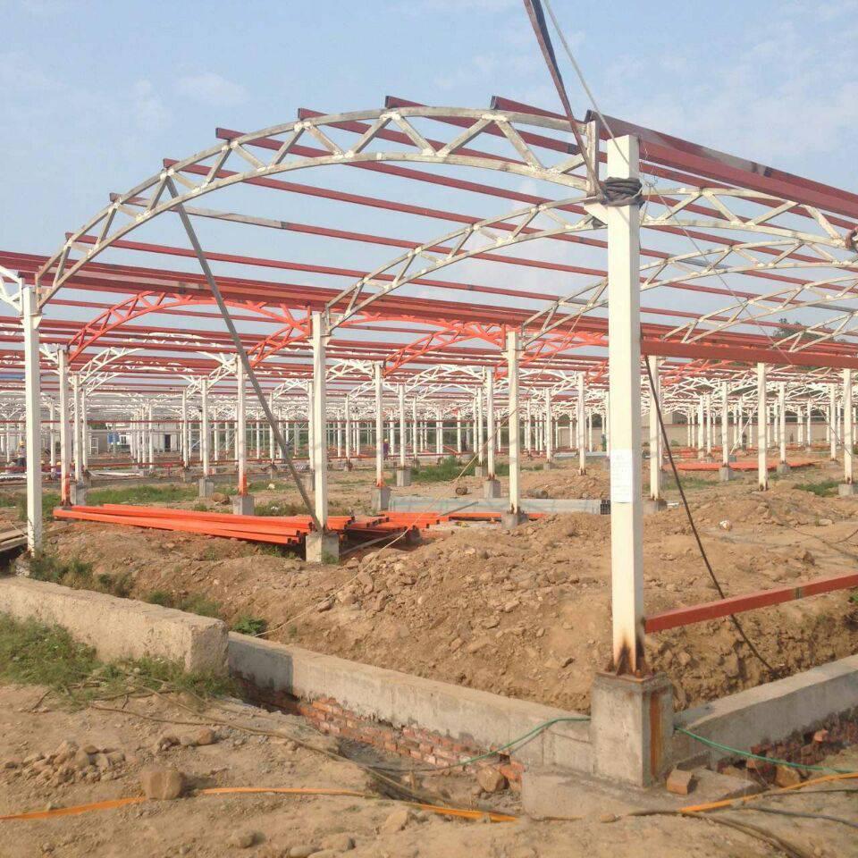 钢结构工程公司承建各种温室大棚