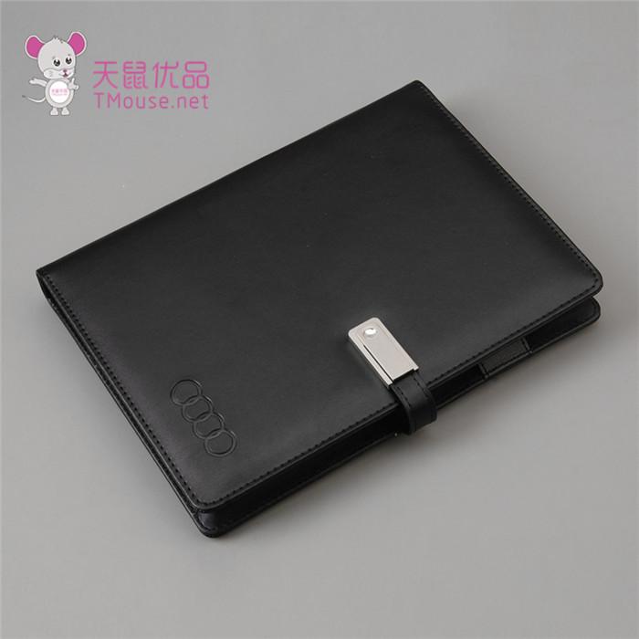 皮革U盘移动电源笔记本批发 天鼠优品