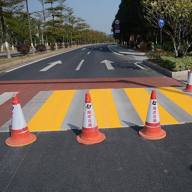 马路双组份刮涂标线涂料 双组份刮涂标线涂料 路虎交通