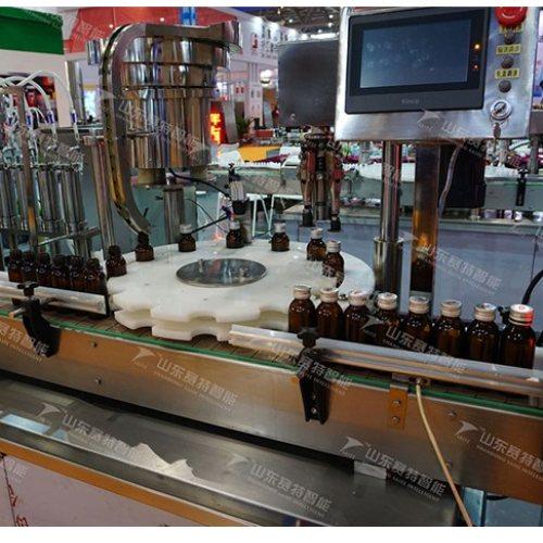 生产红酒灌装机图片 自动红酒灌装机图片 青州赛诺