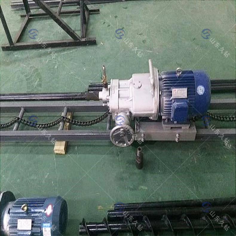 现货直销久钻多角度岩石钻孔机KHYD-110护坡钻机