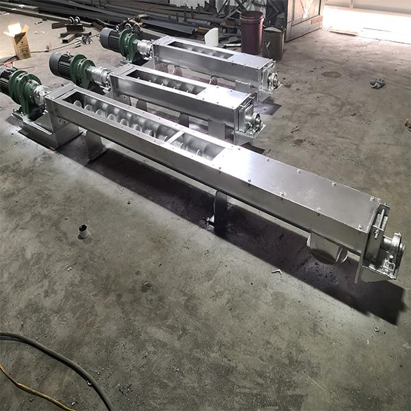 管型螺旋输送机生产地 管型螺旋输送机图片 振源机械