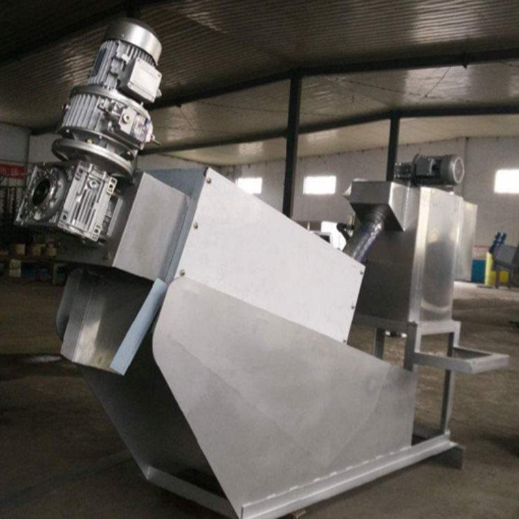 叠螺式污泥脱水机机械 鸿威 打桩叠螺式污泥脱水机