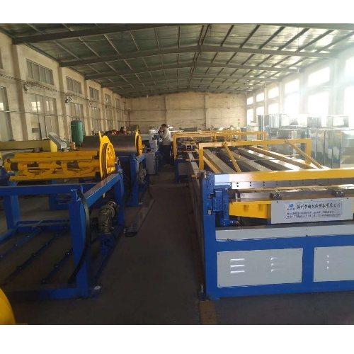 u型风管生产线暖通风管制作自动化生产线 德州恒迪机械