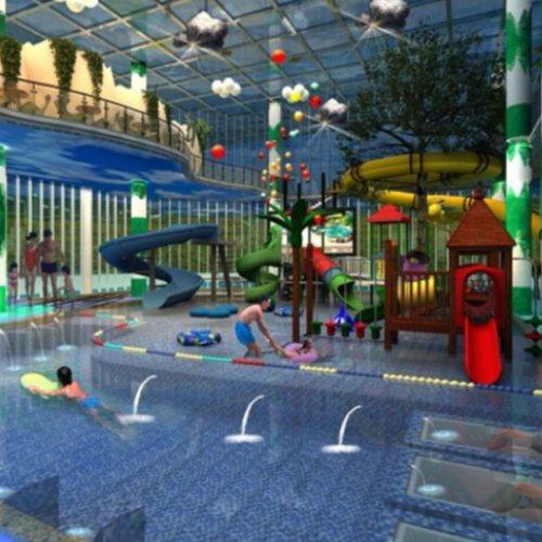 欧式温泉度假村规划设计 新中式温泉度假村设计 御水