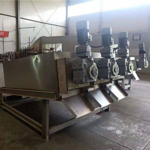 制药叠螺式污泥脱水机 弘满环保 301叠螺式污泥脱水机