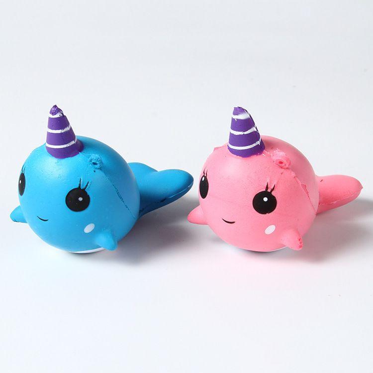 2018新品粉海豚PU慢回弹减压儿童玩具早教玩具厂家直销品质保证