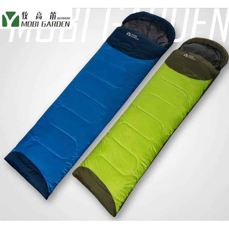牧高笛睡袋登山露营保暖防寒可拼接单人信封式加厚棉 祥云睡袋