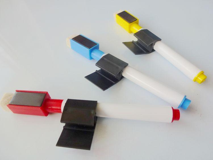 厂家直销白板笔配件 侧面大笔夹 儿童专用 环保大笔夹