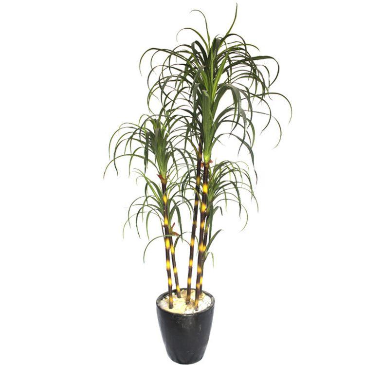 环保仿真万寿竹盆栽优雅室内人造竹盆景假绿植仿真植物盆栽设计