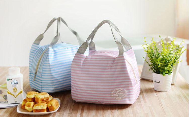厂家订做冰包背奶包 便当保冷保温饭盒包 野餐袋 午餐包款式多