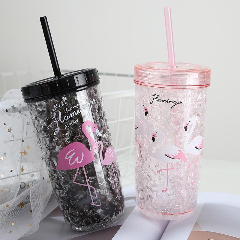 爆款罐头杯 钻石吸管杯 饮料杯 亚克力杯碎裂冰杯铁塑料梅森杯