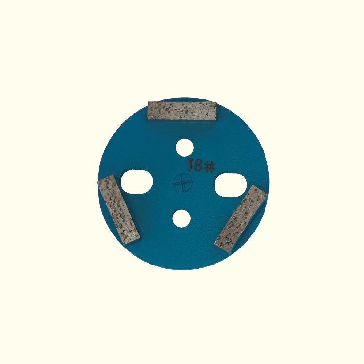 金刚石固态磨块 CJYH-0008 80mm 100mm 旧环氧地面打磨 现货供应